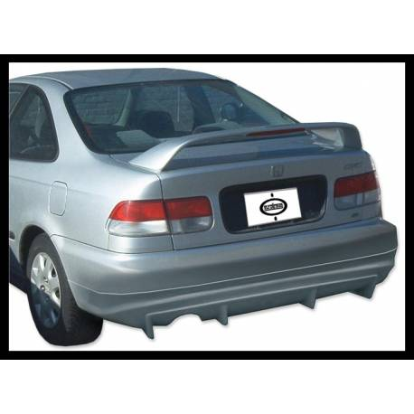 Rear spoiler honda civic 1992 1995 2 or 4 door tuning for 03 honda civic 2 door