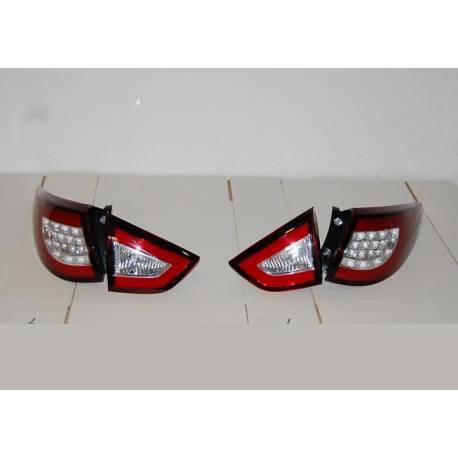 Set Of Rear Tail Lights Hyundai Ix35 Led Red Flashing Led
