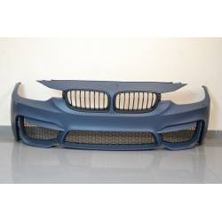 FRONT BUMPER BMW F30-F31 12-14 LOOK M4 GRILL ABS
