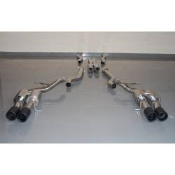 Exhaust BMW E63 M6 / E64 M6 Black Tips