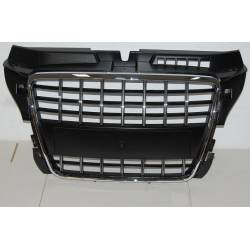 FRONT GRILL AUDI A3  3 PUERTAS / SPORTBACK S3 2009 CHROMED