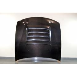 CARBON FIBRE BONNET NISSAN 240 SX 1997-1999, WITH AIR INTAKE