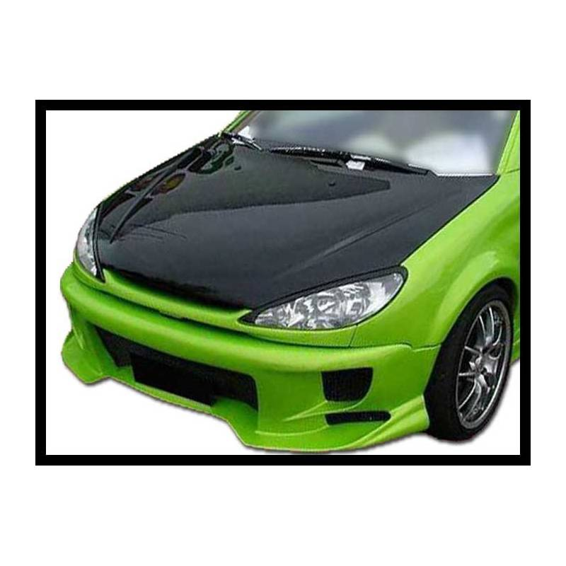 pare choc avant peugeot 206 racing tuning carbon hoods. Black Bedroom Furniture Sets. Home Design Ideas