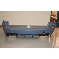 REAR BUMPER BMW F11 LOOK M PERFORMANCE DOUBLE EXHAUST