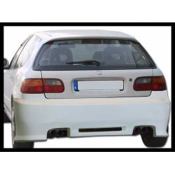 Rear Bumper Honda Civic 1992-1995, 3-Door, Bw Type