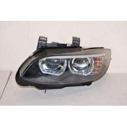 Set Of Headlamps Angel Eyes BMW E92 / E93 07-10 Xenon Black