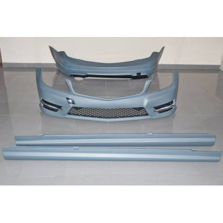 BODY KIT MERCEDES W204 4D 2011-2013 LOOK AMG 1 Exhaust