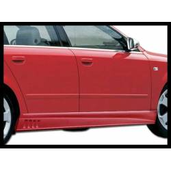 Side Skirts Audi A4 2002-2004 With Side Gill