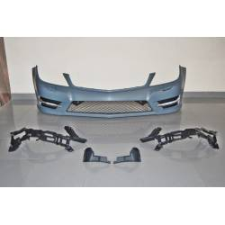 Front Bumper Mercedes W204 Coupe / 4 Doors 11-13 Look AMG