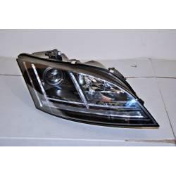 Set Of Headlamps Day Light Audi TT 06-11 Black