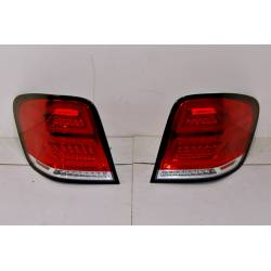Set Of Rear Tail Lights Mercedes W164 '05-08 LED RED