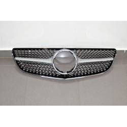 Front Grill Mercedes W207 2014-2016 Look Diamond