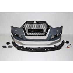 Front Bumper Audi A3 V8 13-15 Sportback  Look RS3