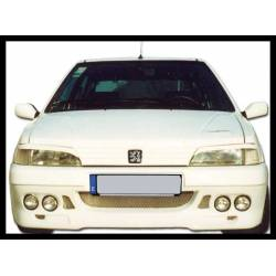 FRONT BUMPER PEUGEOT 106 PHASE I, 4 HEADLAMPS TYPE