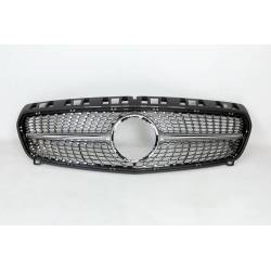 Front Grill Mercedes W176 2012-2015 Look Diamond