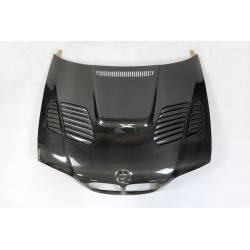 Carbon Fibre Bonnet BMW E46 98-01 2 Door Look M3 GTR