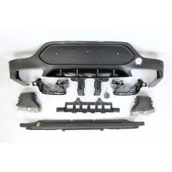Rear Diffuser Mercedes GLC X253 COUPE 2015-2019 ABS