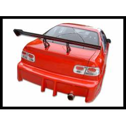 REAR BUMPER HONDA CIVIC COUPE 1996-2000
