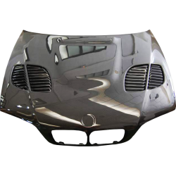 Carbon Fibre Bonnet BMW E46 2002-2006 2-Door Look M3 GTR, With Air Intake