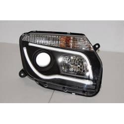 Set Of Headlamps Day Light Dacia Duster 10 Black