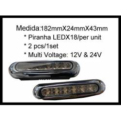 PAIR OF LED LAMPS, DAYLIGHT FUNCTION I