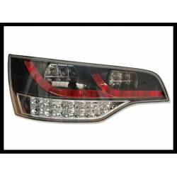 Set Of Rear Tail Lights Audi Q7 Led Black