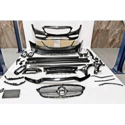 Body Kit Mercedes W205 4d 2014-2021 Look C63 2019 Diamond