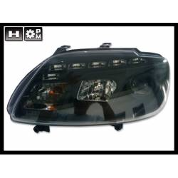 Set Of Headlamps Day Light Touran 03 / Caddy 05 Black