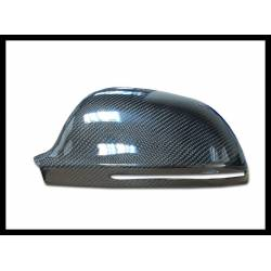 Carbon Fibre Mirror Covers Audi A4, S4 (B8) Or A5, S5 (8T), Year 2008-2009