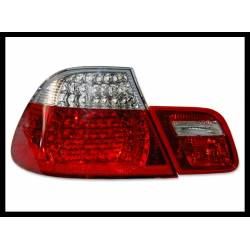 Set Of Rear Tail Lights BMW E46 2003-2005 2-Door, Led Red