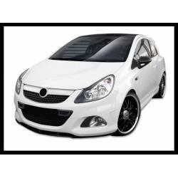 Front Spoiler Opel Corsa D