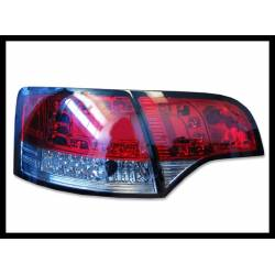 SET OF REAR TAIL LIGHTS AUDI A4 2005-2008 SW, LEXUS RED/SMOKED