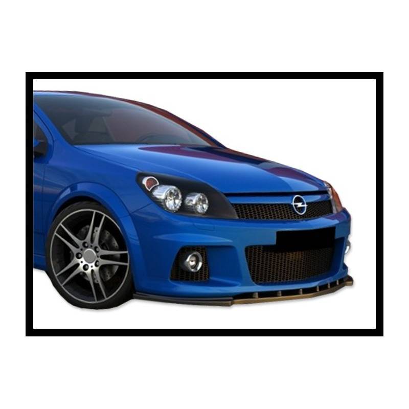 front spoiler opel astra h for opc tuning carbon hoods. Black Bedroom Furniture Sets. Home Design Ideas