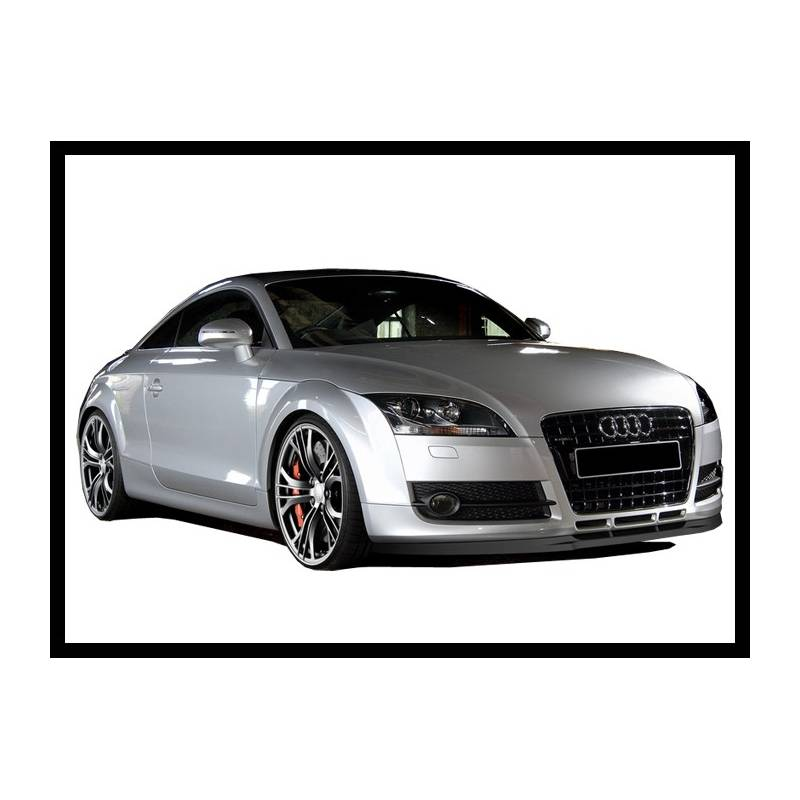 front spoiler audi tt mk2 2nd phase tuning carbon hoods. Black Bedroom Furniture Sets. Home Design Ideas