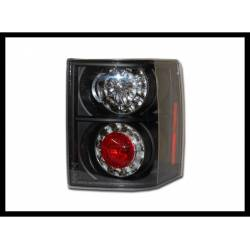Set Of Rear Tail Lights Range Rover 2003 Led Black