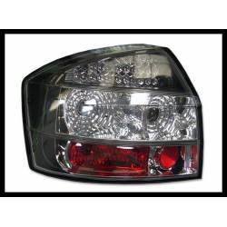 SET OF REAR TAIL LIGHTS AUDI A4 2002-2004 LED BLACK