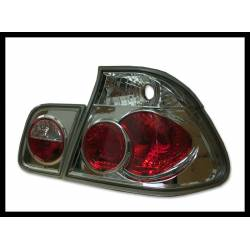 Set Of Rear Tail Lights BMW E46 1998-2001 4-Door, Lexus Chromed