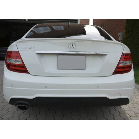 Spoiler Mercedes W204 Coupe 2007-2013 Look C63 AMG - Tuning Carbon Hoods