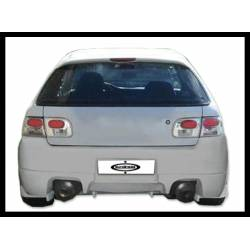 REAR BUMPER HONDA CIVIC 1992-1995, 2 OR 4-DOOR, RACING TYPE