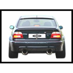 Rear Bumper BMW E39 95-03, M5 Type Double Exhaust