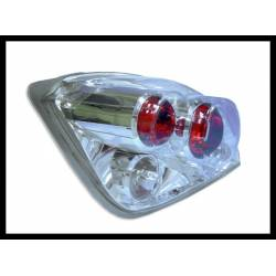Set Of Rear Tail Lights Ford Fiesta 1996 Lexus Chromed