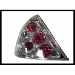 SET OF REAR TAIL LIGHTS FORD MONDEO 2001 5-DOOR LEXUS CHROMED