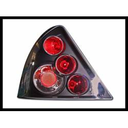 Set Of Rear Tail Lights Ford Mondeo 2001 5-Door Lexus Black