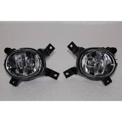 Set Of Fog Lamps For Bumper Audi A3 S3 1996-2008 / A4