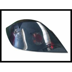 Set Of Rear Tail Lights Opel Astra H '04/'08 5P Black Smoked