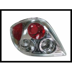 Set Of Rear Tail Lights Hyundai Coupe 2002 Lexus Chromed