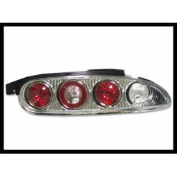 SET OF REAR TAIL LIGHTS MAZDA MX3 LEXUS CHROMED