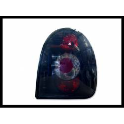SET OF REAR TAIL LIGHTS OPEL CORSA B 3-DOOR LEXUS BLACK TYPE I