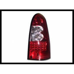 SET OF REAR TAIL LIGHTS OPEL ASTRA G SW LEXUS RED