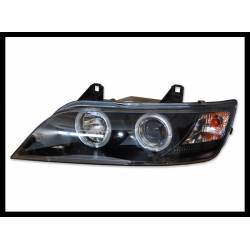 Set Of Headlamps Angel Eyes BMW Z3 1996-2002, Black